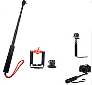Clip Hand Grips/Finger Grooves Monopod For Action Camera Gopro 5 Gopro 3 Gopro 2 Gopro 3+