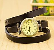 cheap -Women's Quartz Wrist Watch Fashion Watch Casual Watch Plastic Band Charm Black