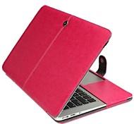 сплошной цвет новейший кожа складной чехол для Macbook Air 13,3 дюйма