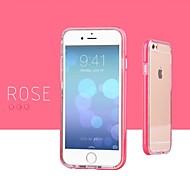 мигающий свет двух частей обмундирования мягкий чехол для Iphone 6 (разных цветов)