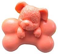 Недорогие -собачьей кости животных формы помады торт шоколадный силиконовые формы торт украшение инструменты, l7cm * w6.5cm * h3.5cm