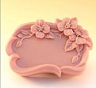 Недорогие -в форме цветка помадки торт шоколадный силиконовые формы