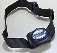 cheap -LS126 Headlamps LED lm Mode - Waterproof Small Size Emergency Camping/Hiking/Caving Everyday Use Cycling/Bike Hunting Outdoor Climbing