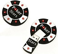 2gb de poker legal chip de memória usb 20 pen drive flash de vara