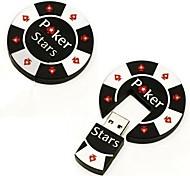 Недорогие -2GB прохладно покер чип USB 20 ручки вспышки ручки памяти привода