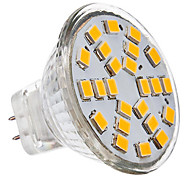 cheap -230 lm GU4(MR11) LED Spotlight 24 leds SMD 2835 Warm White Cold White AC 12V