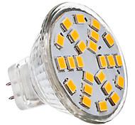 GU4(MR11) Focos LED 24 leds SMD 2835 Blanco Cálido Blanco Fresco 230lm 3500/6000K AC 12V