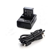 Battery Charger Battery For Action Camera Gopro 4 Gopro 2 Plastic