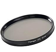 tianya® 52mm CPL filtro polarizador circular para Nikon D5200 D3100 D5100 D3200 lente 18-55mm