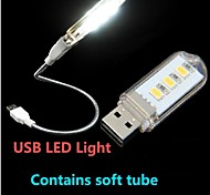 KLW Ночные светильники/Светодиодная подсветка для чтения - Натуральный белый - USB - 1,50 - (W) - AC 220 - (V)
