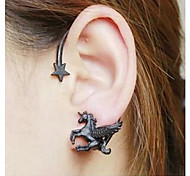 Women's Ear Cuffs Costume Jewelry Alloy Star Jewelry For Wedding Party Daily Casual