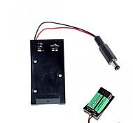 Недорогие -качество 9v держатель высокого батарея для Arduino