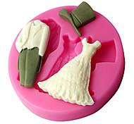 Недорогие -свадебные платья резинка пасты формы, украшения торта инструменты