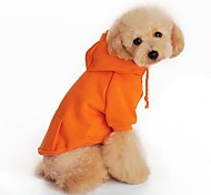 Dog Hoodie Dog Clothes Holiday Black Orange Gray Red Costume For Pets
