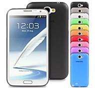 Für Samsung Galaxy Note Ultra dünn Hülle Rückseitenabdeckung Hülle Einheitliche Farbe TPU Samsung Note 2