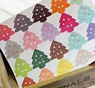 Multifunction Christmas Style Baking Sealing Decorative DIY Stickers(20Stickers/pcs)