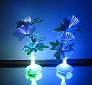 Недорогие -LED Night Light Водонепроницаемый Батарея Акрил 1 лампа Батарейки не входят в комплект 11.0*11.0*29.0cm