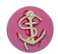 Недорогие -мини-якорь силиконовые силиконовые формы для украшения торта прессформы для помадки фимо шоколадные конфеты SM-472