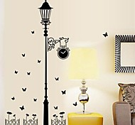 Wall Stickers Wall Decals Stree Light Feature Removable Washable PVC