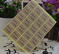 Multifunction Korean Style Baking Sealing Decorative DIY Stickers(20 Stickers/pcs)(Letter:Hand Make)