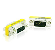 cheap -15 Pin DB15 HD SVGA VGA Male to Female 15 Pin M/F Monitor Gender Changer Coupler Adapter Connector