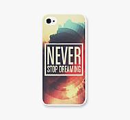 никогда не наденьте крышку корпуса телефона ПК для iphone5c iphone случаев