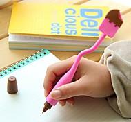 Caneta Caneta Canetas esferográficas Caneta,Silicone Barril Preto cores de tinta For material escolar Material de escritório Pacote de