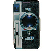 Недорогие -Для Кейс для HTC со стендом / с окошком / Флип Кейс для Чехол Кейс для Мультяшная тематика Твердый Искусственная кожа HTC