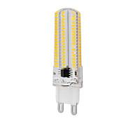 Недорогие -5 500-550 G9 LED лампы типа Корн T 152 светодиоды SMD 3014 Диммируемая Тёплый белый Холодный белый 2800-3200/6000-6500K AC 220-240V