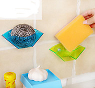 cheap -Sucker Sink Drain Frame / Multi-Functional Stand/Sponge Stand (Color Random)