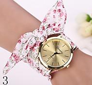 2015 женщин платье часы наручные часы девушка лук тканевую полоску