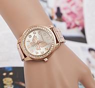 cheap -yoonheel Women's Quartz Wrist Watch Imitation Diamond Metal Band Simulated Diamond Watch Elegant Fashion Silver Gold Rose Gold