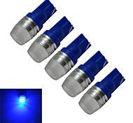 cheap -90lm lm T10 Decoration Light 1 leds High Power LED Blue DC 12V