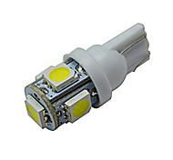 preiswerte -70-90 lm T10 Lichtdekoration 5 Leds SMD 5050 Kühles Weiß DC 12V