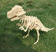 Недорогие -деревянный поделки 3 d модель тираннозавра