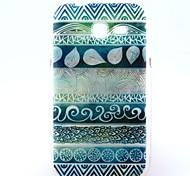 Для Кейс для  Samsung Galaxy С узором Кейс для Задняя крышка Кейс для Полосы / волосы TPU Samsung Trend Lite