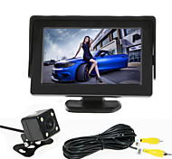 cheap -RenEPai® 4.3 Inch Monitor + 170°HD Car Rear View Camera +  High-Definition Wide Angle Waterproof CMOS Camera