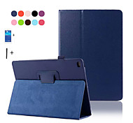 cheap -Pu Leather Stand Case For Apple Ipad 6 air 2 smart cover for ipad6 ipad air2 flip case+Screen Protector+Stylus