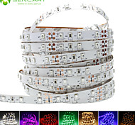 cheap -SENCART Flexible LED Light Strips 60 LEDs Warm White White Purple Green Yellow Blue Red Cuttable Dimmable Self-adhesive Suitable for