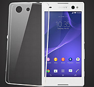 cheap -Case For Sony Xperia Z3 Compact Sony Sony Case Transparent Back Cover Solid Color Soft TPU for Sony Xperia Z3 Compact Sony