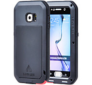 cheap -Case For Samsung Galaxy Samsung Galaxy Case Water/Dirt/Shock Proof Full Body Cases Armor Metal for S6