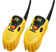 cheap -2PCS Portable plastic toys walkie-talkie
