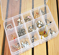 cheap -Men's Women's Jewelry Boxes Square Transparent Resin Fashion Daily