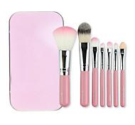 cheap -7pcs Professional Makeup Brushes Makeup Brush Set Nylon Travel / Eco-friendly / Professional Eye / Face / Lip Middle Brush / Small Brush
