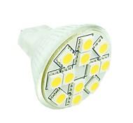 Недорогие -1.5W GU4(MR11) Точечное LED освещение MR11 12 светодиоды SMD 5050 Диммируемая Декоративная Тёплый белый Холодный белый Естественный белый