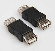 cheap -USB 2.0 Type A Female to Female Cord Cable Coupler Adapter Convertor Connector Changer Extender Coupler
