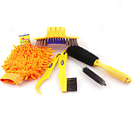 cheap -ACACIA   Bicycle Chain Cleaner Cycling Clean tire Brushes Tool kits set Mountain Road Bike Cleaning gloves Accessories