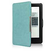 Недорогие -Кожаный чехол shy bear ™ для нового устройства чтения электронных книг kobo glo hd