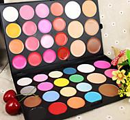 44 Румяна Матовое стекло Отблеск Расширенный Цветной глянец Покрытие Консилер Натуральный Лицо Глаза Губы Возможные цвета