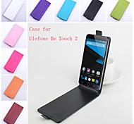 флип кожаный магнитный защитный чехол для ulefone быть Touch 2 (ассорти цветов)